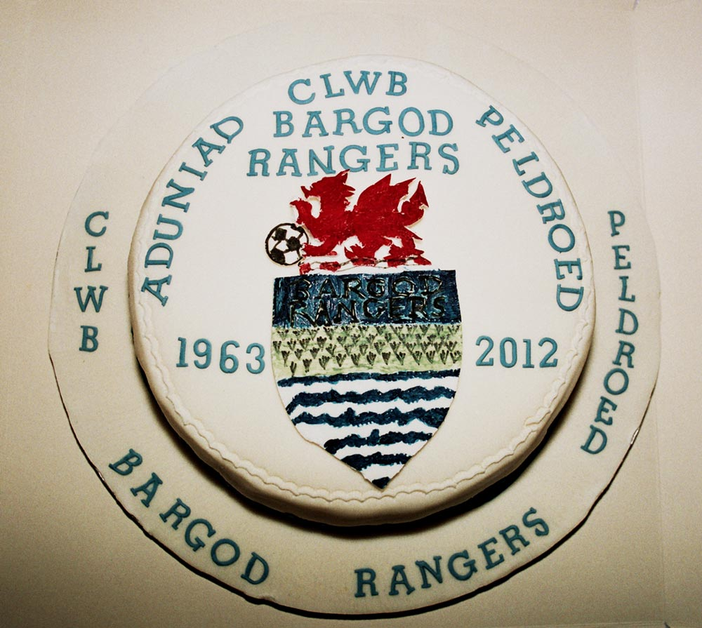 Celebrating the Bargod Rangers Reunion cake
