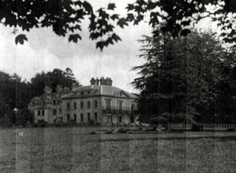 Photograph of llysnewydd mansion - click on link to see more photographs and information on PCW.